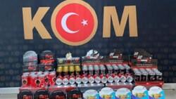 İzmir'de cinsel içerikli ürün ve uyuşturucu ele geçirildi