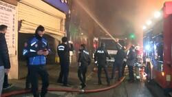 Maltepe'de geri dönüşüm deposunda yangın: Mahalleli depo sahiplerine saldırdı