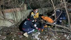 Sancaktepe'de polisten kaçan iki şüphelinin bacağı kırıldı