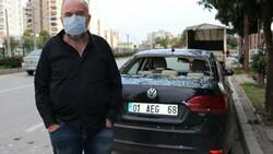 Adana'da bomba gibi patlayan şofbenden dakikalarla kurtuldu