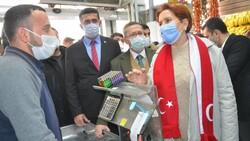 Meral Akşener, Hakkari'de esnafı ziyaret etti