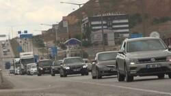43 ilin geçiş noktası Kırıkkale'de araç yoğunluğu