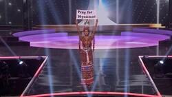 ABD'de düzenlenen Kainat Güzellik Yarışması'nda siyasi mesajlar