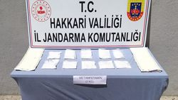 Hakkari'de yolcu minibüsünde 2 kilo uyuşturucu ele geçirildi