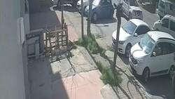 Ataşehir'de ilginç kaza: Yol vermedi, diğer araçlara çaptı