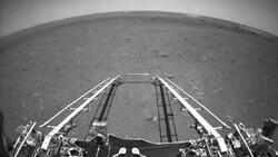 Çin, Mars keşif aracı Zhurong'un çektiği ilk fotoğrafları yayınladı
