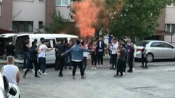 Zonguldak'ta maske ve sosyal mesafesiz asker uğurlaması
