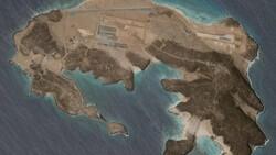 Yemen açıklarındaki adada hava üssü ortaya çıktı