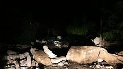 Sarıyer'de 3 gün önce çöken köprünün etrafı kapatıldı