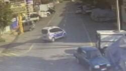Başakşehir'de tamir için bırakılan polis otosuyla tur atan çıraklar köpek çaldı