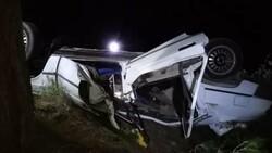 Adana'da otomobil şarampole yuvarlandı: 1 ölü