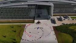 NATO Karargahı binası ilk kez havadan görüntülendi