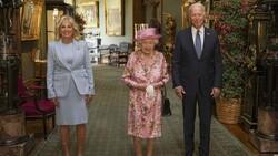 Joe Biden, İngiltere Kraliçesi II.Elizabeth ile bir araya geldi