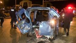 Erzurum'da kavşakta kaza: 10 yaralı