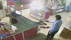 Konya'da market sahibinin öldürülmesi güvenlik kamerasında