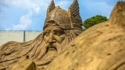 Antalya Kum Heykel Festivali başladı: Kayıp Şehir Atlantis temasıyla açıldı