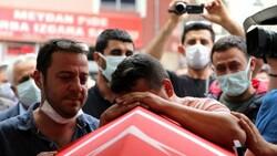 Şehit polis Ercan Yangöz son yolculuğuna uğurlandı