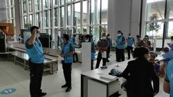 İstanbul Havalimanı'nda aşı merkezi hizmete açıldı