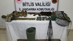 Bitlis'te 2 terörist silahlarıyla beraber öldürüldü