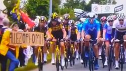 Fransa Bisiklet Turu'nda kazaya sebep olan kişi teslim oldu
