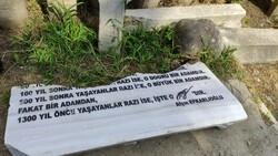 Hüseyin Nihal Atsız'ın mezarına saldırı