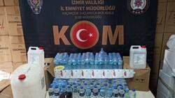 İzmir'de piyasa değeri 1 buçuk milyon liralık kaçak ürün ele geçirildi