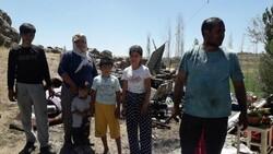 Muş'ta buzdolabı patladı, evleri harabeye döndü