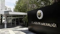 Dışişleri Bakanlığı'ndan AP'nin Türkiye kararına sert tepki