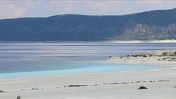 Salda Gölü'ndeki Beyaz Adalar, doğal görünümüne kavuştu