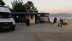 İzmir'de sahilde erkek cesedi bulundu