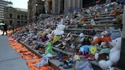 Kanada'da 160'dan fazla isimsiz çocuk mezarı bulundu
