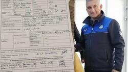 İzmir'de zabıta memuru kendisine ceza yazdı