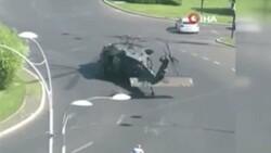 ABD'ye ait askeri helikopter Bükreş'te yola indi