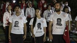 TBMM'de milli sporcuların demokrasi nöbeti