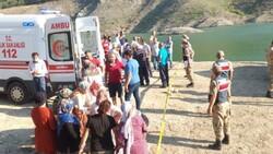 Amasya'da barajda kaybolan 5 kişilik aileden 2'sinin cesedine ulaşıldı