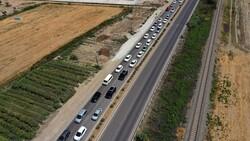 Aydın'da tatilci trafiği