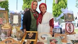 Samsun'da kadınlar pandemide ürettiklerinden sergi açtı