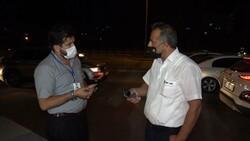 Kırıkkale'de koronalı şoför direksiyon başında yakalandı