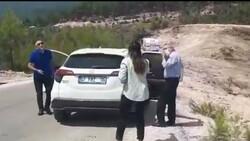 CHP'li vekilden yangın bölgesindeki muhabire çirkin müdahale