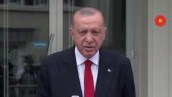 Cumhurbaşkanı Erdoğan, cuma namazı sonrası konuştu