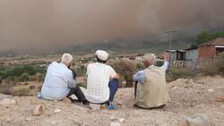 Çine'de çıkan orman yangını nedeniyle 6 mahalle boşaltıldı