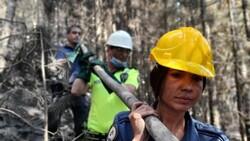 Polis ekipleri, orman yangınlarının meydana geldiği bölgeden ayrılmıyor