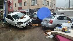 Sel sonrası Kastamonu'nun Bozkurt ilçesi savaş alanına döndü