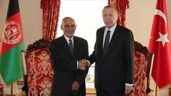 Cumhurbaşkanı Erdoğan, Afganistan Cumhurbaşkanı ile görüştü