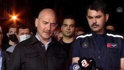 Süleyman Soylu ile Murat Kurum, Kastamonu'daki selin son durumunu açıkladı