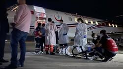 Lübnan'daki 4 yaralı Türkiye'ye getirildi