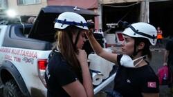 Kastamonu'da arama kurtarmaya kadın desteği
