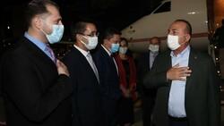 Dışişleri Bakanı Mevlüt Çavuşoğlu Ürdün'de