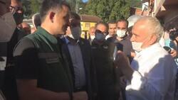 Bartın'da selden kurtulan yaşlı adamdan Bekir Pakdemirli'ye: Çok gururluyum