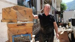 Bozkurt'taki sel felaketinde 5 bin 500 arı kovanı hasar aldı